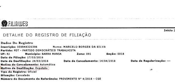 Suplente De Marcelo Cabeleireiro Vai à Justiça Pedir Perda